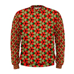 Lovely Trendy Pattern Background Pattern Men s Sweatshirts