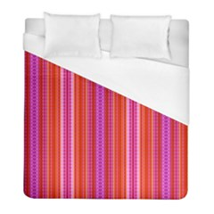 Orange Tribal Aztec Pattern Duvet Cover Single Side (twin Size) by creativemom