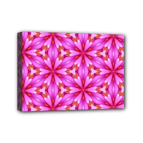 Cute Pretty Elegant Pattern Mini Canvas 7  X 5  by creativemom