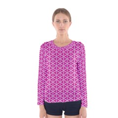 Cute Pretty Elegant Pattern Women s Long Sleeve T-shirts by creativemom