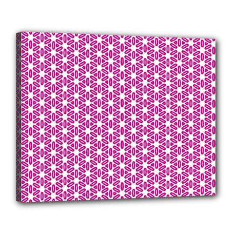Cute Pretty Elegant Pattern Canvas 20  x 16  by creativemom