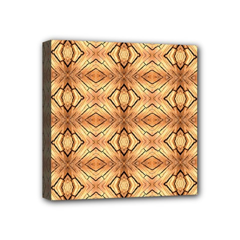 Faux Animal Print Pattern Mini Canvas 4  X 4  by creativemom