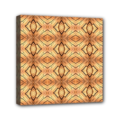 Faux Animal Print Pattern Mini Canvas 6  X 6  by creativemom