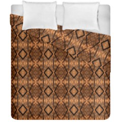 Faux Animal Print Pattern Duvet Cover (double Size) by creativemom