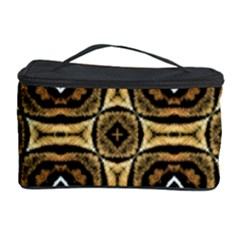 Faux Animal Print Pattern Cosmetic Storage Cases by creativemom