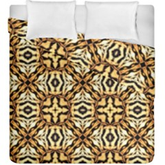 Faux Animal Print Pattern Duvet Cover (King Size) by creativemom