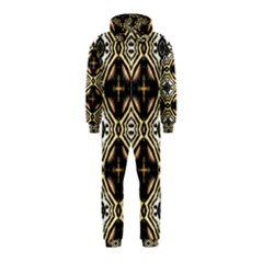 Faux Animal Print Pattern Hooded Jumpsuit (Kids) by creativemom