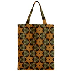 Faux Animal Print Pattern Zipper Classic Tote Bags by creativemom