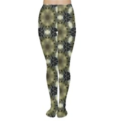 Faux Animal Print Pattern Women s Tights by creativemom