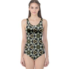 Faux Animal Print Pattern Women s One Piece Swimsuits by creativemom