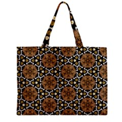 Faux Animal Print Pattern Zipper Tiny Tote Bags by creativemom