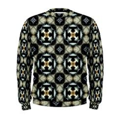 Faux Animal Print Pattern Men s Sweatshirts