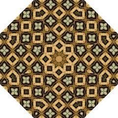 Faux Animal Print Pattern Straight Umbrellas
