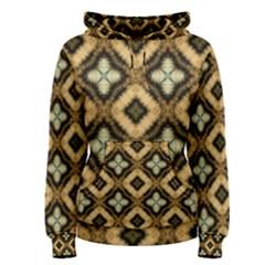 Faux Animal Print Pattern Women s Pullover Hoodies