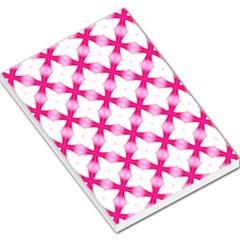 Cute Pretty Elegant Pattern Large Memo Pads by creativemom