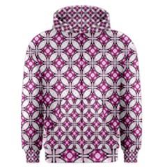 Cute Pretty Elegant Pattern Men s Zipper Hoodies