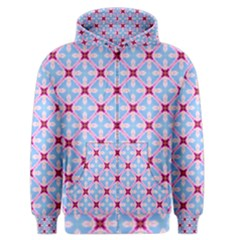Cute Pretty Elegant Pattern Men s Zipper Hoodies