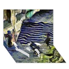 Banks Of The Seine Kpa Love Bottom 3d Greeting Card (7x5)
