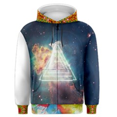 Nebula Triangle Men s Zipper Hoodie Final