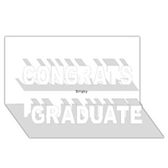 Comic Book Wham! Congrats Graduate 3d Greeting Card (8x4)  by ComicBookPOP