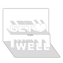 Comic Book Zoom! Get Well 3d Greeting Card (7x5)  by ComicBookPOP