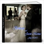 Brittany and Jason 12 x 12 - 12x12 Photo Book (20 pages)