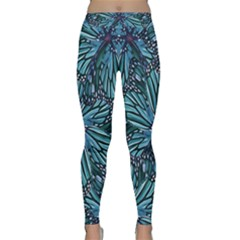 Modern Floral Collage Pattern Yoga Leggings by dflcprintsclothing