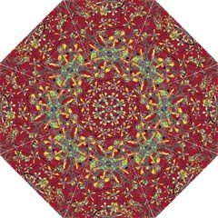 Oriental Floral Print Hook Handle Umbrellas (medium)