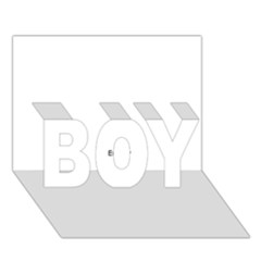 Usa States Flag Boy 3d Greeting Card (7x5) by theimagezone