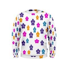 Candy Flowers Boys  Sweatshirts