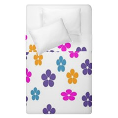Candy Flowers Duvet Cover (single Size) by designmenowwstyle