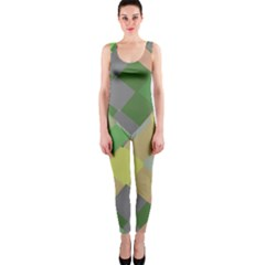 Squares And Other Shapes Onepiece Catsuit by LalyLauraFLM