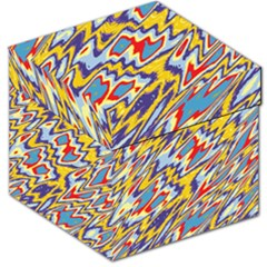 Colorful chaos Storage Stool by LalyLauraFLM
