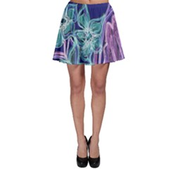 Bluepurple Skater Skirts by rokinronda