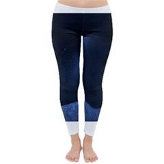 Blue Heart Collection Winter Leggings by timelessartoncanvas