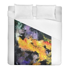 Space Odessy Duvet Cover Single Side (Twin Size) by timelessartoncanvas