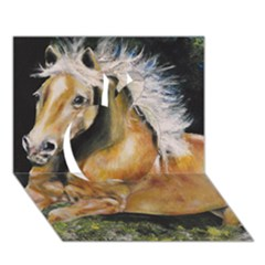 Mustang Apple 3d Greeting Card (7x5)  by timelessartoncanvas