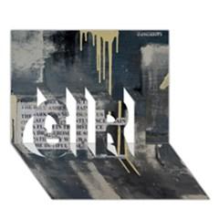 The Dutiful Rise Girl 3d Greeting Card (7x5)