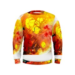 Fire, Lava Rock Boys  Sweatshirts