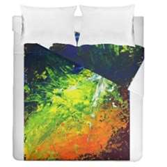 Abstract Landscape Duvet Cover (full/queen Size) by timelessartoncanvas