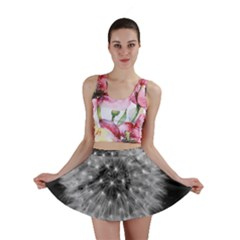 Modern Daffodil Seed Bloom Mini Skirts by timelessartoncanvas