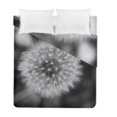 Modern Daffodil Seed Bloom Duvet Cover (Twin Size) by timelessartoncanvas