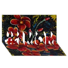 Hawaii Is Calling #1 Mom 3d Greeting Cards (8x4)  by timelessartoncanvas