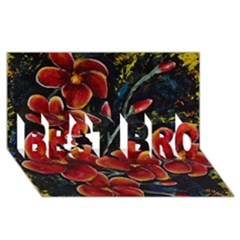 Hawaii Is Calling Best Bro 3d Greeting Card (8x4)  by timelessartoncanvas