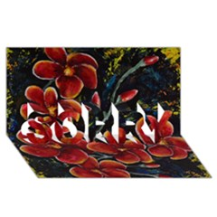 Hawaii Is Calling Sorry 3d Greeting Card (8x4)