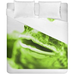 Green Frog Duvet Cover (Double Size)