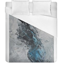Ghostly Fog Duvet Cover Single Side (double Size) by timelessartoncanvas