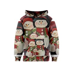 Snowman Family No  2 Kid s Pullover Hoodies