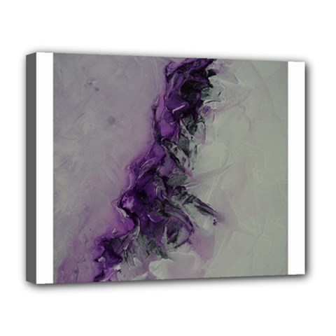 The Power Of Purple Canvas 14  X 11  by timelessartoncanvas