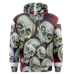 Halloween Skulls No 1 Men s Pullover Hoodies by timelessartoncanvas